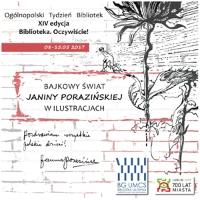 Bajkowy świat Janiny Porazińskiej w ilustracjach