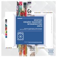 Grafika książki naukowej Wydawnictwa UMCS.
